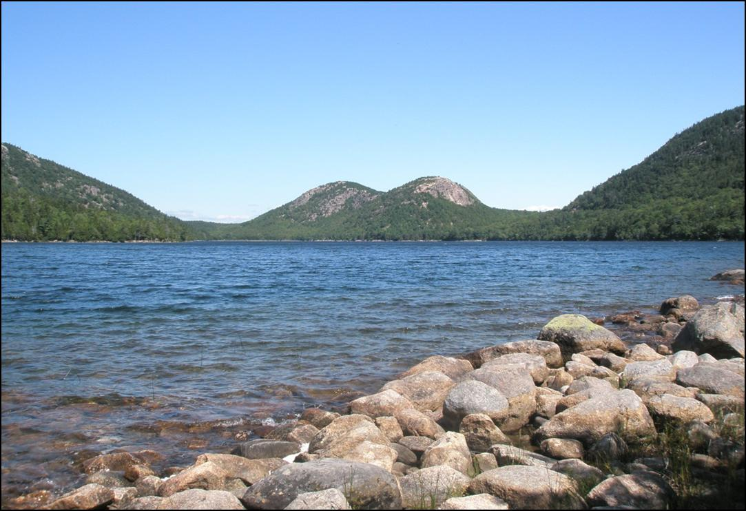 Jordan Pond, Acadia National Park<br />