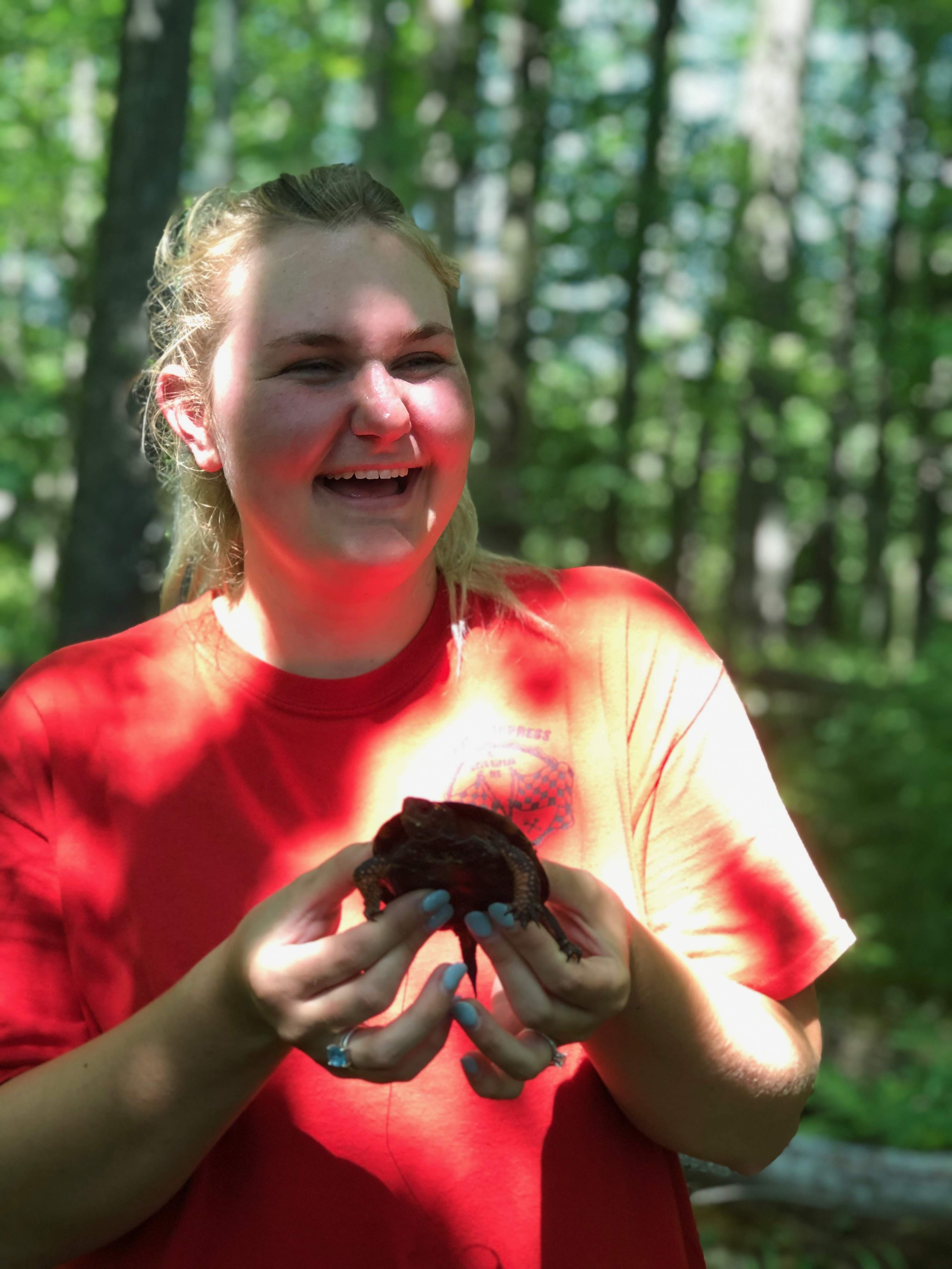 B.S. Forest Resources and Environmental Conservation (Virginia Tech, 2018) <br /><br />My broad interests involve land management and associated wildlife-habitat interactions regarding small mammals. As a master's student, I will be studying fox squirrel populations in the Piedmont and Coastal Plain of Virginia.