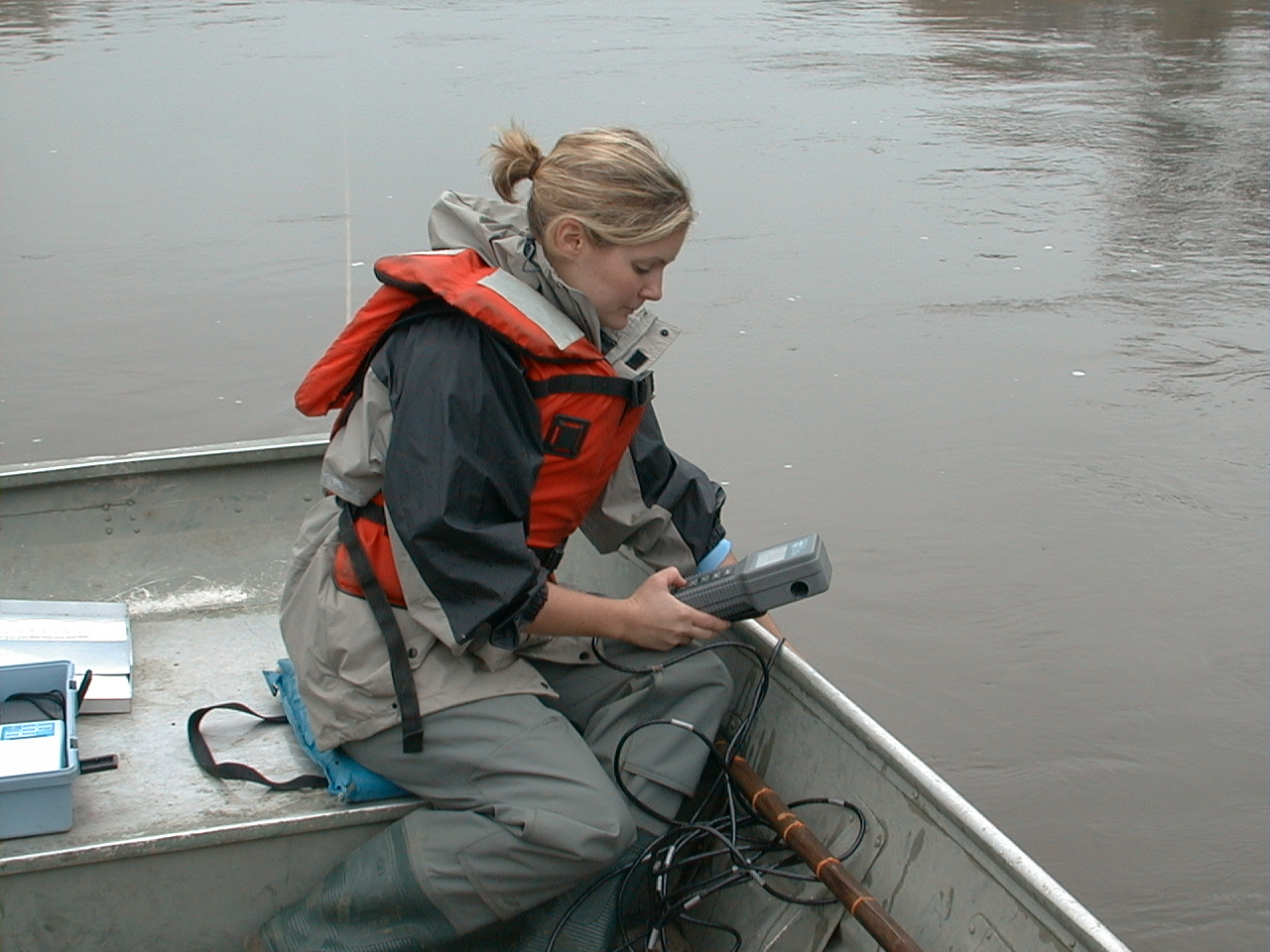 Measuring water quality in the Roanoke River basin