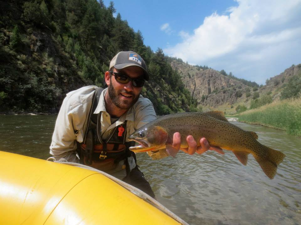 Rod & Reel sampling in the Teton River Canyon, Idaho