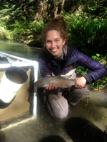 Steelhead, Caspar Creek, California
