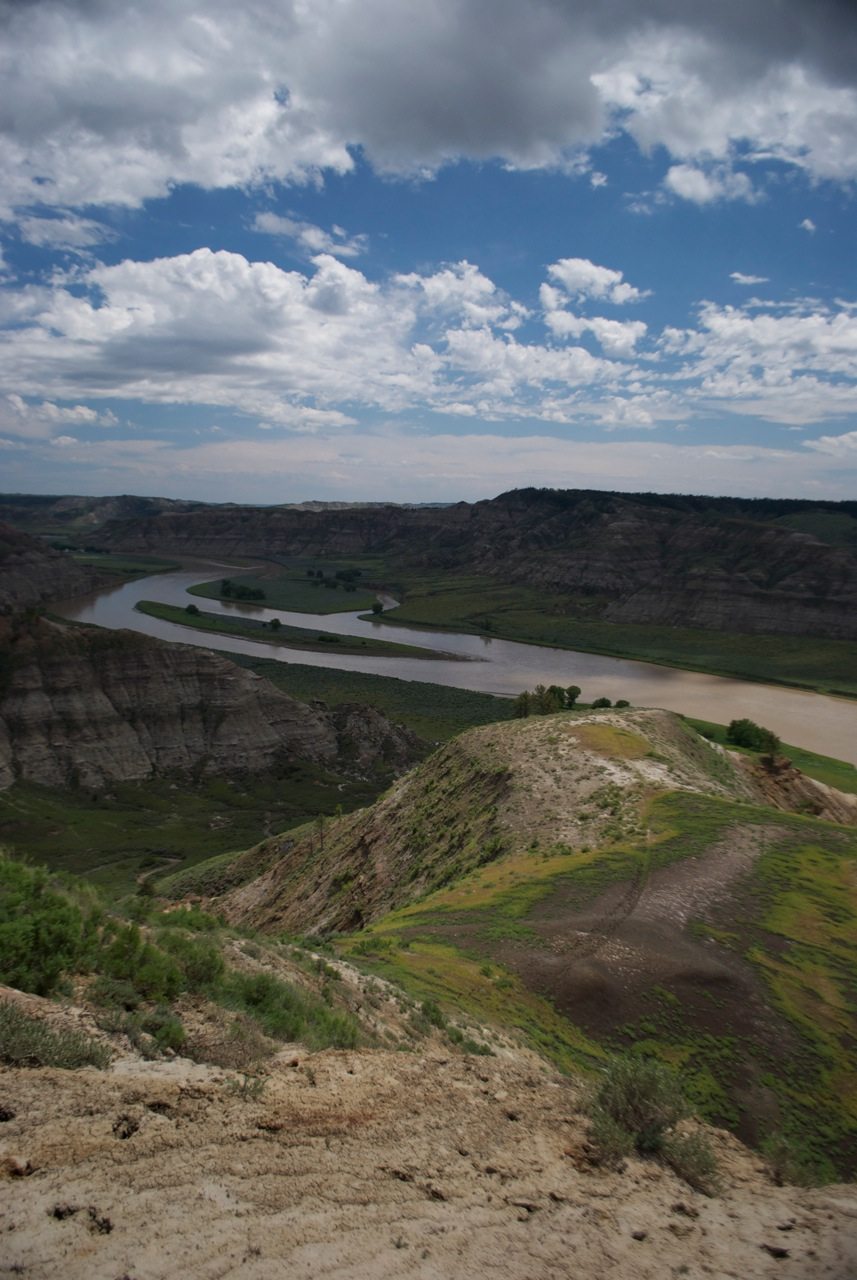 Missouri River, central Montana