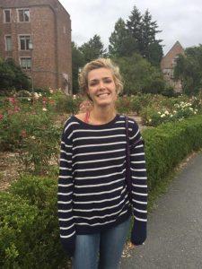 Graduate Student Hannah Sipe.